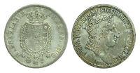 pci0422) Napoli regno Ferdinando I grana 120 piastra 1818 TG
