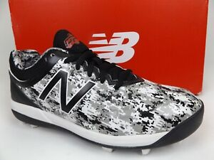 New Balance 4040v5 J4040PK5 Baseball Cleats Unisex Big Kids Size 5.0 M, BLK 1825