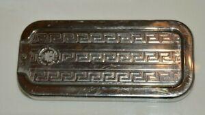 Vintage MINTY Chrome Metal Rolls Razor w/ Case and Paperwork Barber Shop Rare