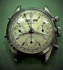 Ultra rare vintage watch  GALLET  DAT0-COMPAX    Ref. 998     cal. Valjoux 72C