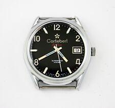 vintage Cortebert manual Swiss watch stainlessteel waterproof assembled in Egypt