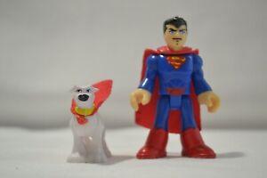 IMAGINEXT DC SUPERMAN and SUPERDOG Super man dog