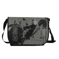 Bungo Stray Dogs Osamu Dazai Messenger Bag Satchel Laptop Crossbody Shoulder Bag
