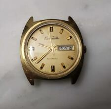 Vintage Pierre Valle Automatic Wristwatch Movement & Case ~ 9-I1157