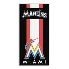 MLB Florida Marlins Vintage Logo Cotton 30 X 60 Beach Dorm Towel Free Shipping! Sports Fan Apparel & Souvenirs MLB Fan Apparel & Souvenirs
