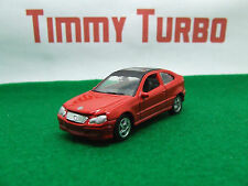 MERCEDES BENZ C CLASS SPORTS COUPE IN RED GOOD CONDITION RED 75 MM LONG