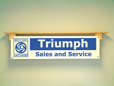 British Leyland Triumph Banner classic Car retro workshop Herald Dolomite Toledo