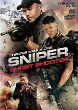 Sniper: Ghost Shooter (DVD, 2016).....Horror....FREE SHIPPING