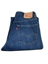 LEVIS 550 RELAXED FIT JEANS MENS 32X32 DARK WASH
