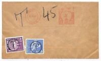 EE256 1961 SWITZERLAND Postage Stamps Used As Postage Dues GB Mail Slough Bucks