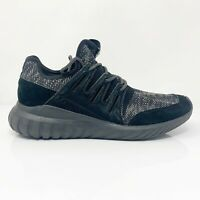 Adidas Mens Tubular Radial BB2394 Black Running Shoes Lace Up Low Top Size 10