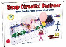 Elenco Snap Circuits Beginner Electricity Learning Kit w/20+ Projects ELESCB20