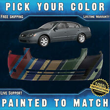 NEW Painted to Match - Front Bumper Cover For 2005 2006 Nissan Altima Sedan