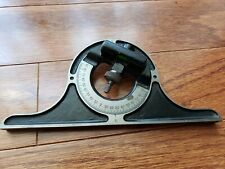 Vintage BROWN & SHARPE Machinists Protractor Level USA Patent 1925 Antique