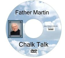 Father Martin Chalk Talk ALCOHOLICS ANONYMOUS DVD FREE SHIPPING RARE
