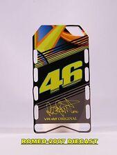 1:12 Pit board - pitboards Valentino Rossi Yamaha 46 2013 to minichamps RARE NEW