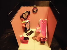 OOAK Deluxe Monster High Draculaura Powder Room Diorama
