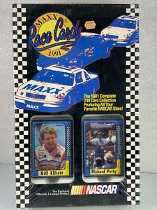 MAXX Nascar Drivers 1991 (240-cards) Complete Card Collection - Sealed Box Set