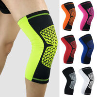 Grid Pattern Sports Short Knee Protectors Running Basketball Protective Gear
