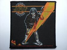 AC/DC   HIGH VOLTAGE  WOVEN  PATCH