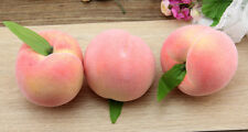 Artificial Peaches Fake Fruit Faux Food Home Kitchen Party Hotel Wedding