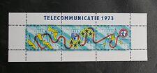 TIMBRES DES ANTILLES NEERLANDAISES : 1973 TELECOMMUNICATIE - SERIE COMPLETE TBE