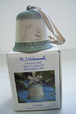 "M.J. Hummel Christmas Bell ""Hear Ye, Hear Ye"" Third Edition 1991 Germany"