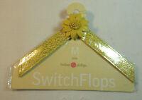 Lindsay Phillips SwitchFlops 7-8 Medium Interchangeable Straps *JULIA*  Yellow