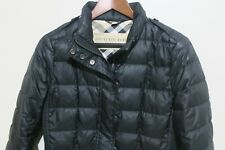Authentic Burberry Brit Dalesbury Duck Down Puffer Jacket Black Size M