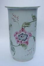 "Vintage 1935 ? Rosenthal Germany Selb Vase Chinese Flowers 8.5"" Von Stockmayer?"