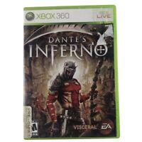 Dante's Inferno (Microsoft Xbox 360, 2010) Case & Disc