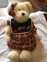 """NEW Boyds Christmas 2010 /""""Miss Wise/"""" Teacher Bear Orn"""