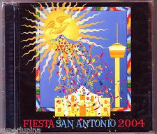 2004 OFFICIAL FIESTA SAN ANTONIO 2-CD Set w/ Video NEW Texmaniacs David Marez
