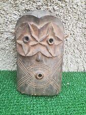 African tribal art, Amazing antique chasseurs Masque De (D R C).