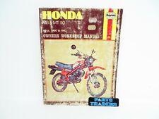 New listing Haynes Owners Workshop Service Repair Manual Honda Mb5 Mb50 Mt50