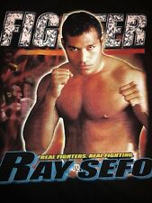 Rare Vintage NEW Street Fighter Rey Sefo Ufc Pride Wwf Mma Muay Thai Combat K-1