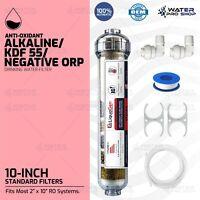 100%AUTHENTIC LiquaGen Anti-Oxidant Alkaline/KDF55/ORP NEG Drinking Water Filter