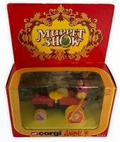 Corgi 2033 Muppet Show Animal +Original Box 1979 Vintage Jim Henson Toy (s
