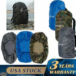 Waterproof Rain Resistant Cover Durable Camping For 15-80L Backpack Rucksack Bag