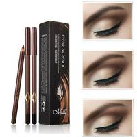 Waterproof Makeup Tool Eyebrow Pencil Eye Cosmetic Dual-use Eyeliner Pen