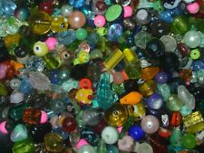 1/4 lb Mixed Color Glass Crystal Store Handmade Lampwork Beads lot