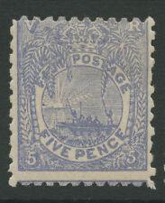 Fiji SG85 1893 5d ultramarine Mounted mint