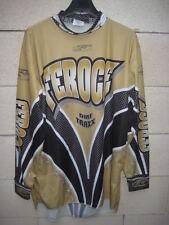 Maillot MOTO CROSS FEROCE Dirt Traxx shirt jersey camiseta L