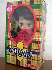 Takara Tomy CWC 1/12 11cm Petite Blythe Doll PBL-22 Totaly Tartan
