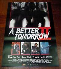 "Chow Yun-Fat ""A Better Tomorrow 2"" John Woo Overseas Version POSTER"