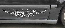 Aston Martin Logo Sticker Decal Vinyl Var Sz & Clr Volante Vantage Cygnet Zagato