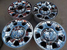 "4- 2014 Ford F250 Factory 20"" Chrome Wheels 05-17 F350 Super Duty OE 119A"
