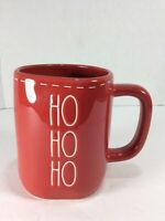 "Brand New Rae Dunn by Magenta ""Ho, Ho, Ho "" RED Christmas Holiday Mug -18 oz"