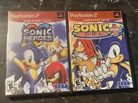 Sonic Heroes for PlayStation 2 PS2 System **Brand New Sealed + Mega Collection