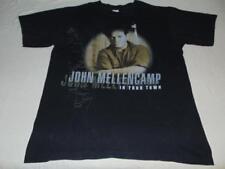 "John Mellencamp ""In your town"" adult medium tour t shirt - VERY GOOD - FREE SHIP"
